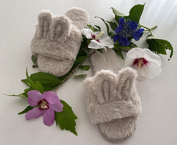 slippersin cute kawaii novelty slippers, japanese bunny rabbit slides
