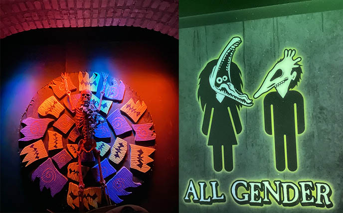 all genders bathroom, unisex restroom sign