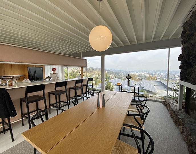 mid century modern architecture kitchen la hollywood
