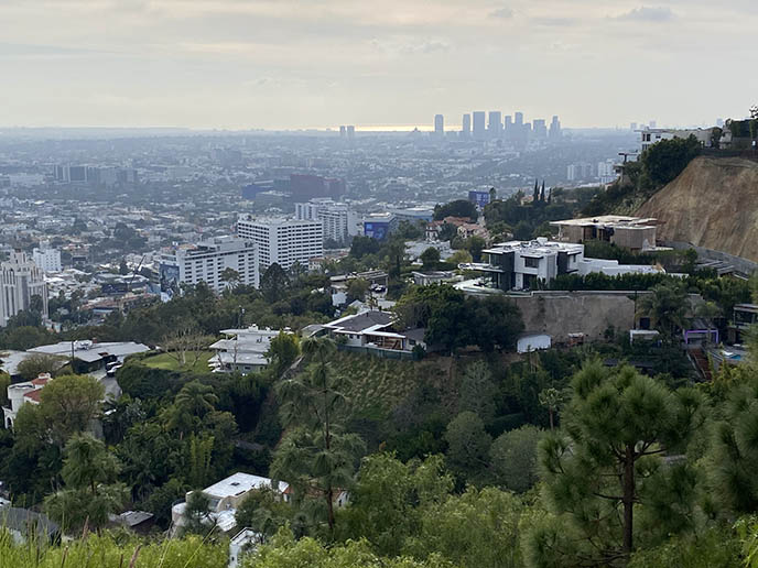 best views los angeles hollywood hills mansions
