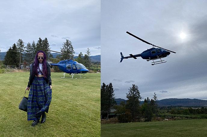 helicopter for hire rentals private planes british columbia