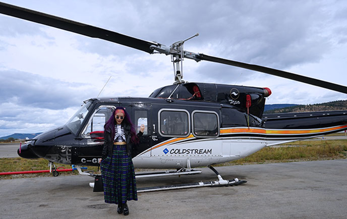 luxury travel helicopter private flights tours