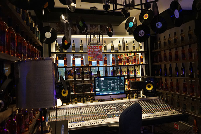 recording studio winery, Music Wine Experience