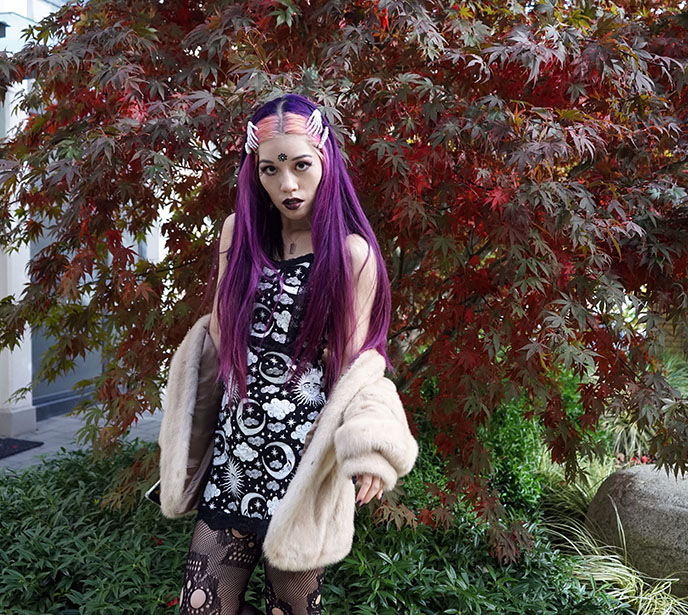 gothic kawaii pastel goth e-girl tiktok gothtok