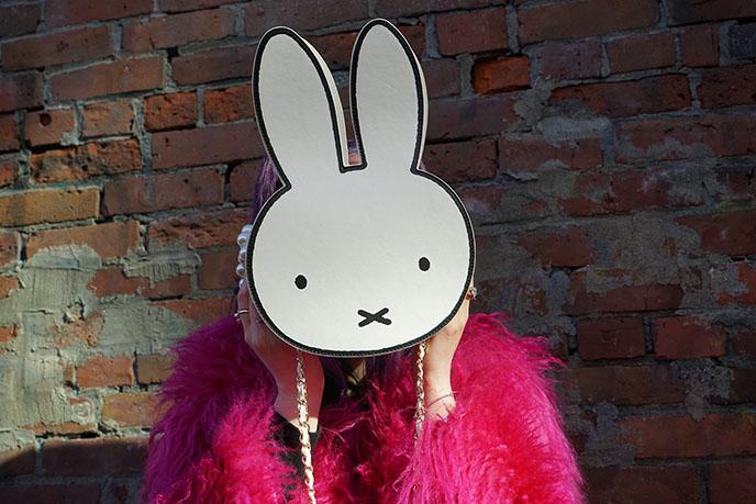 miffy bunny face bag kawaii designer character bags purses