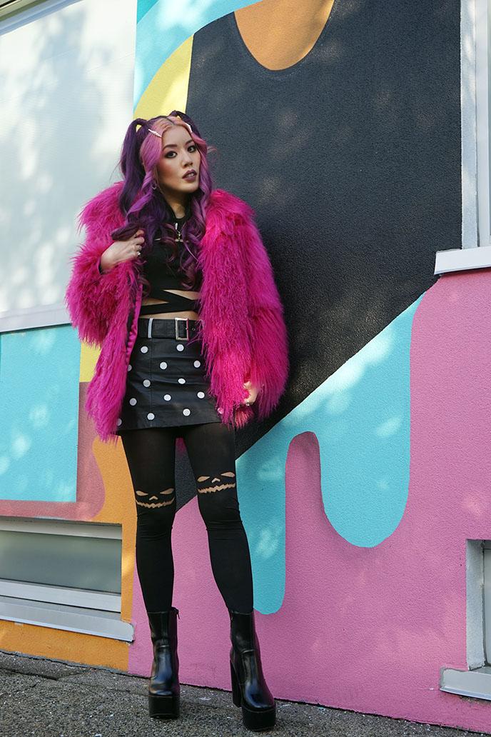 vancouver portrait photography model outfit fashion shoots