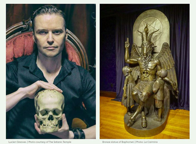 lucien greaves, douglas mesner, satanic temple leader founder face portrait eye