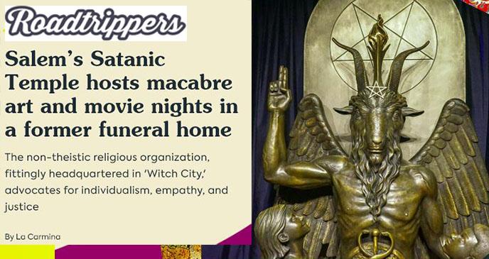 lucien greaves the satanic temple, doug mesner, satanist modern satanism