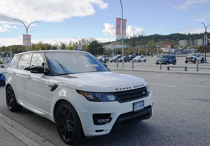luxury rental cars driver service naramata kelowna