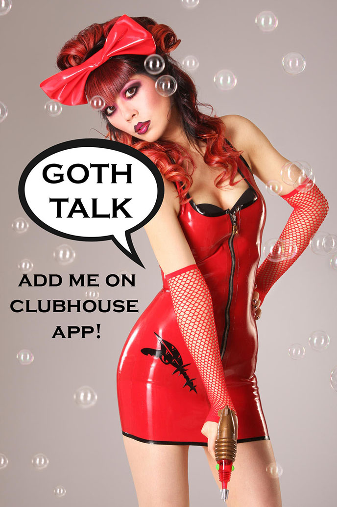 clubhouse influencers, popular top clubs goth talk app invite influencer