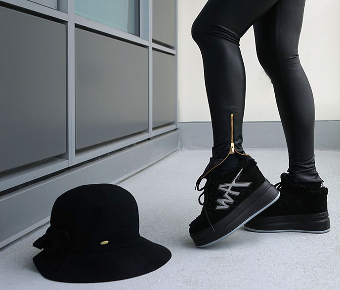 anthony wang platform sneakers goth shoes trainers
