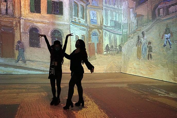 Vancouver Art Exhibition: Imagine Van Gogh tour dates 2021
