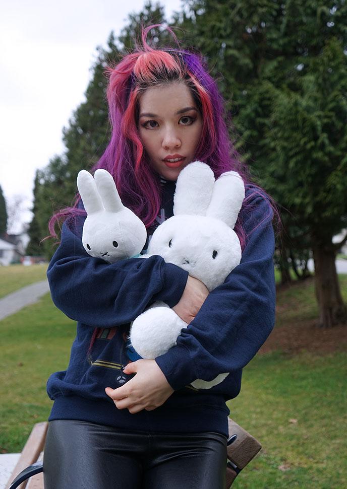 miffy kawaii stuffed toys plushes minimalist bunny