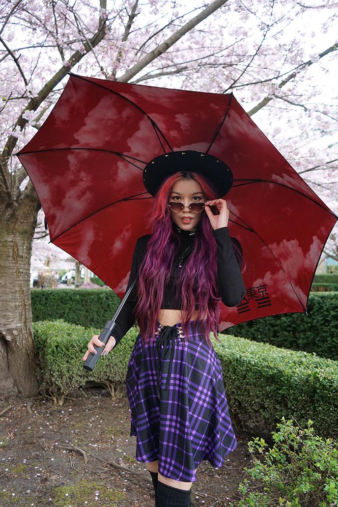 latokyo clothing umbrella la tokyo fashion
