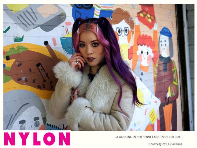interview la carmina nylon magazine hipster fashion it party girl influencer