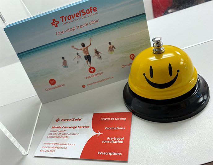 travelsafe clinic vancouver bc covid testing travel