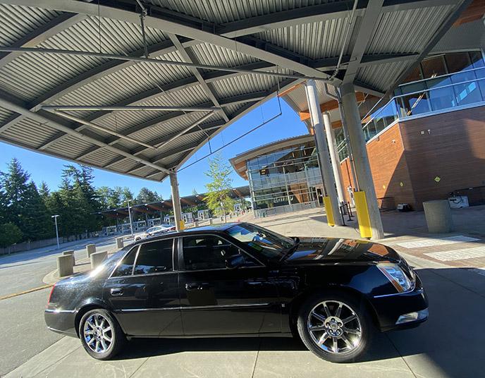 evergreen town car review chauffeur service peace arch bc washington