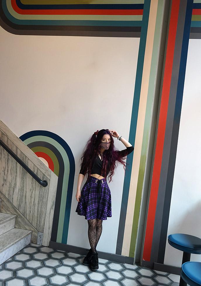 lark hotels salem mid century modern walls colors vintage hotel
