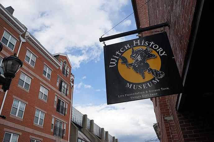 witch history museum sign salem logo