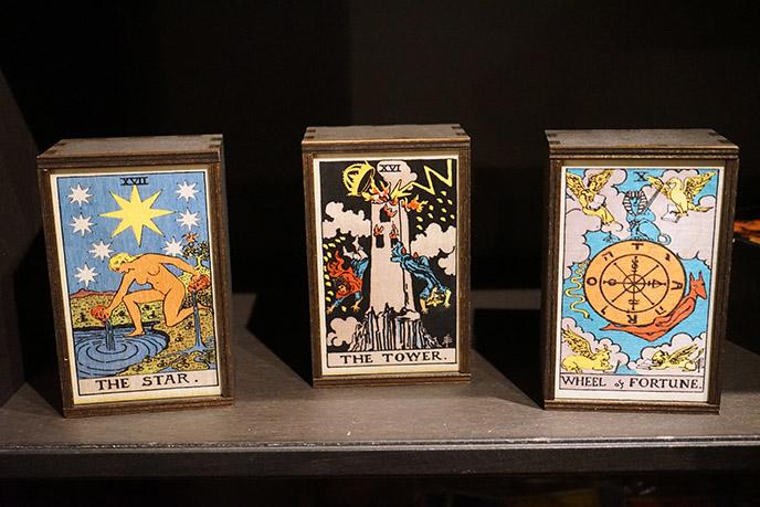 witch shop enchanted tarot cards