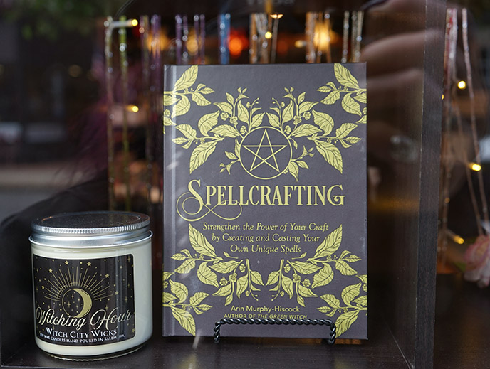 spellcrafting book spells books salem bookstore