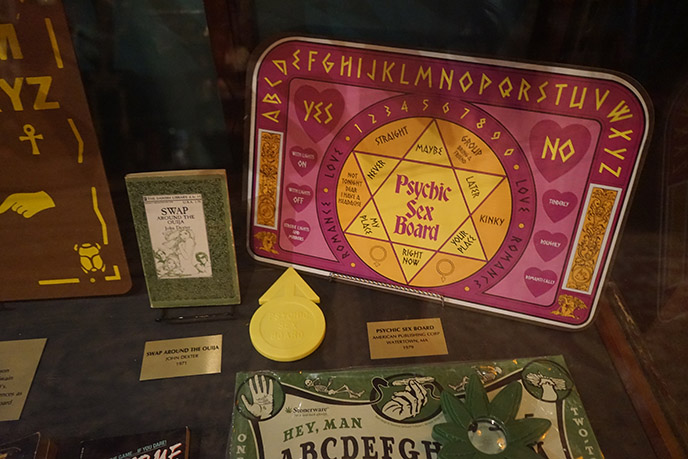 1979 Psychic Sex Board rare Ouija game