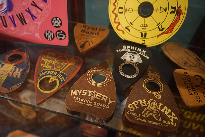 old haunted ouija board planchettes