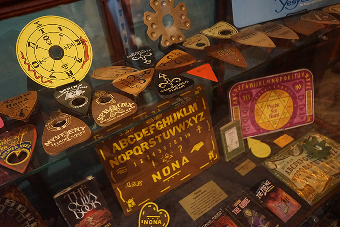 world only ouija boards museum