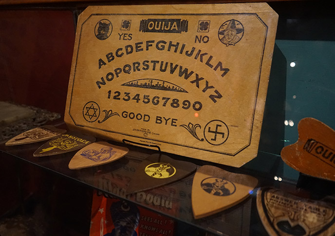 board game swastika ouija symbol