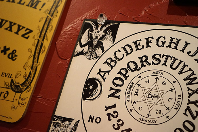 devil cursed ouija board baphomet satan