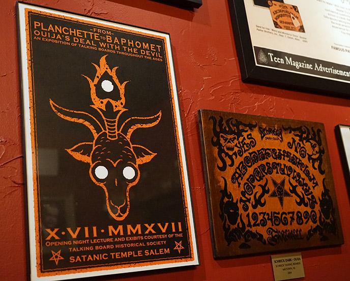 satanic temple salem poster ouija boards