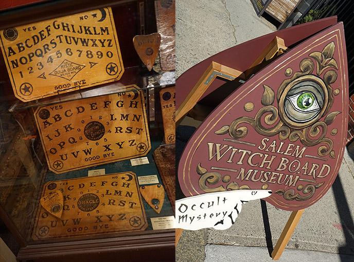 salem witch board museum ouija boards
