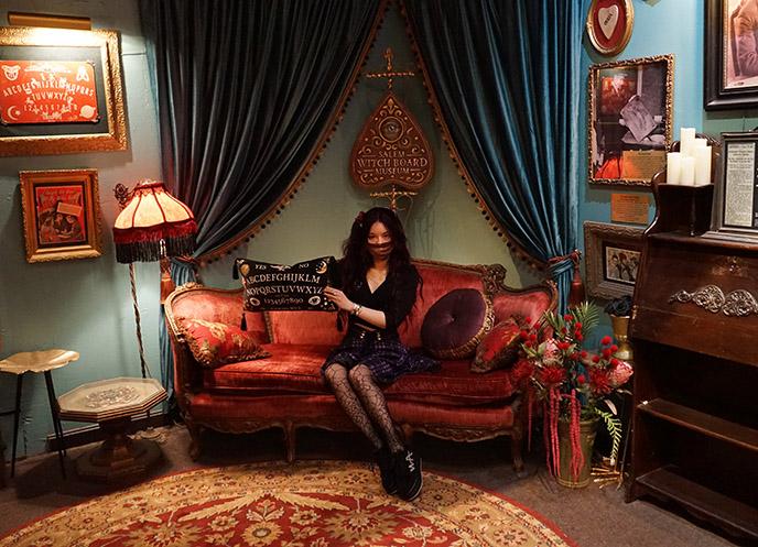 salem ouija board museum collection store