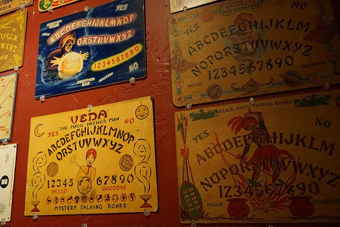 rare vintage ouija boards creepy