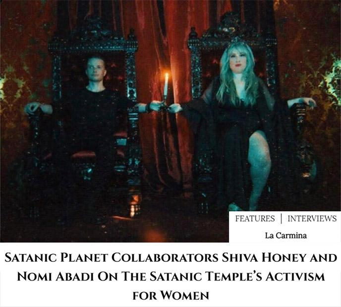 satanic planet interview shiva honey music satanist band album
