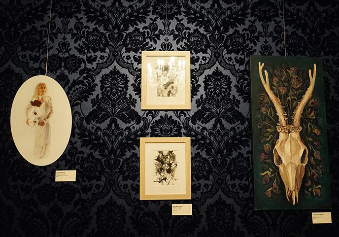 devil satan art exhibition salem art paintings goth gothic