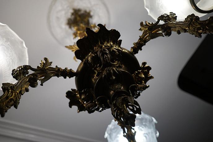 gothic chandelier interior decor design the satanic temple