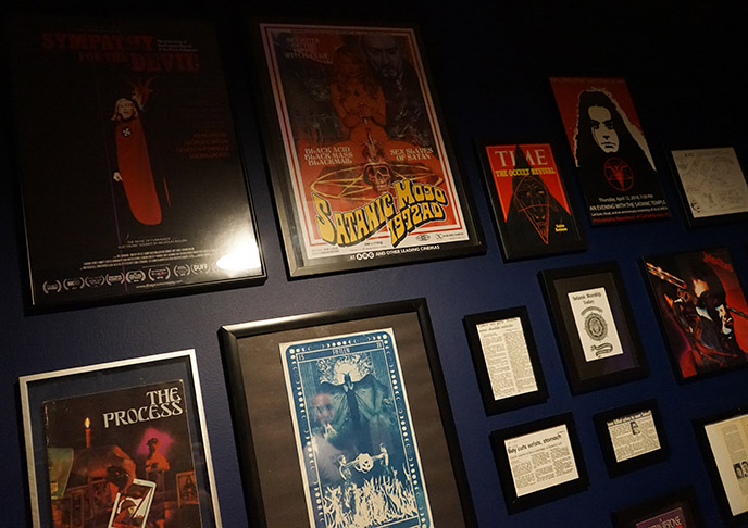 the satanic temple library posters art