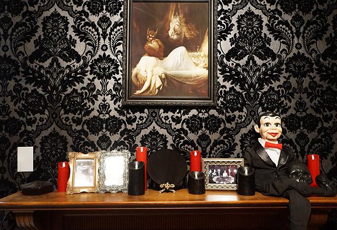 satanic interior decor satanist bedroom design devil satan