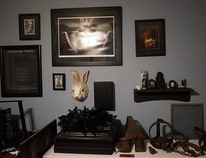 inside the satanic temple headquarters office hq