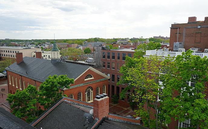 salem ma brick architecture downtown buildings