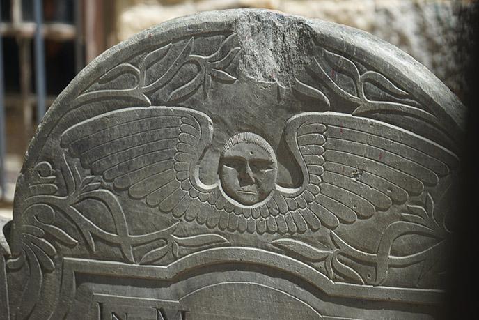 salem puritan gravestone Massachusetts