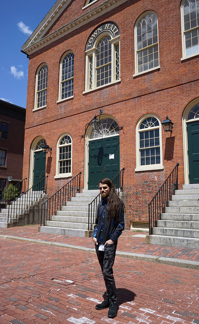 Thomas O'Brien Vallor salem witch witchcraft tour guide tours