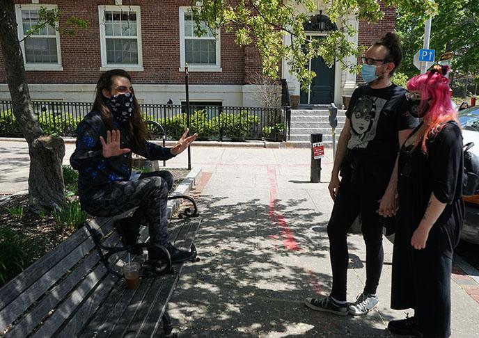 tom vallor guide, top rated Satanic Salem Walking Tours