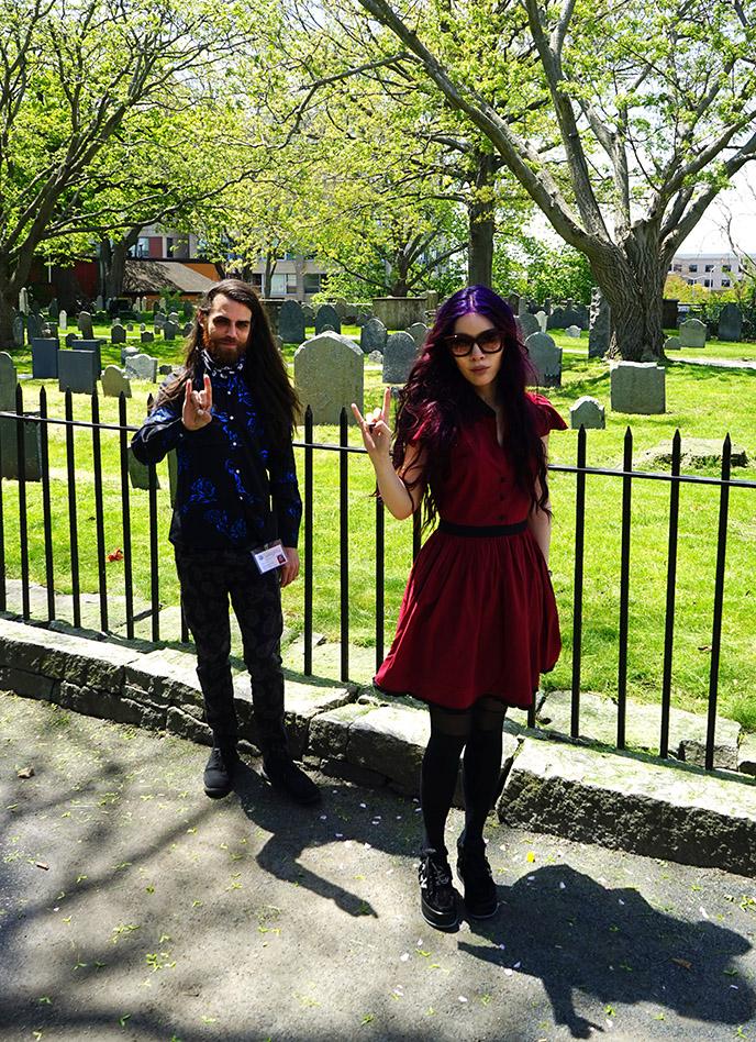 historic Charter Street Cemetery salem ma