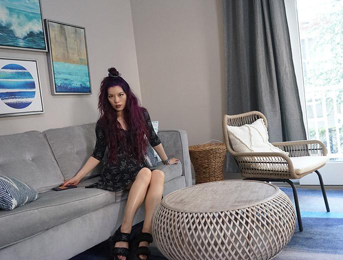 cove at rockport condo interior living room hotel