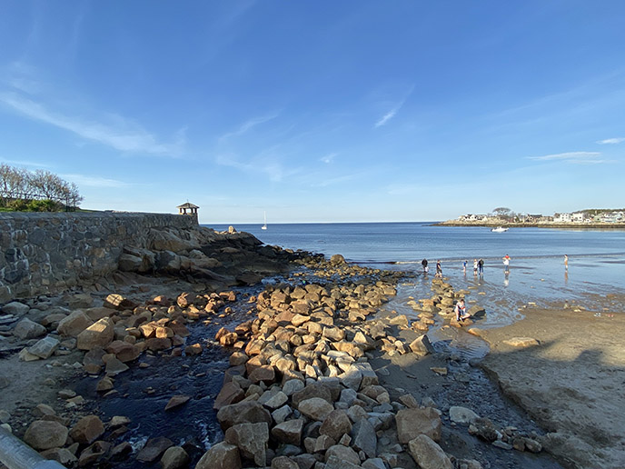 rockport ma rocky beaches ocean