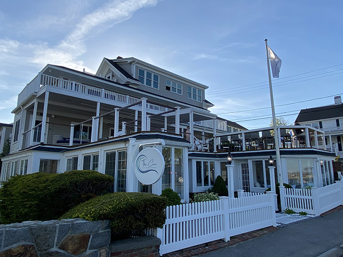 The Cove At Rockport ma, BeachFront Hotel building exterior