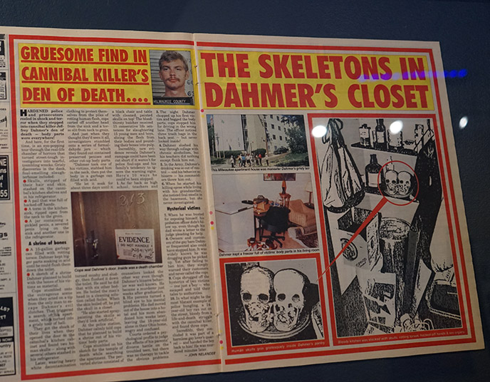 jeffrey dahmer skeletons article cannibalism exhibition