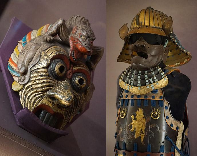 japanese monsters artifacts art sculptures